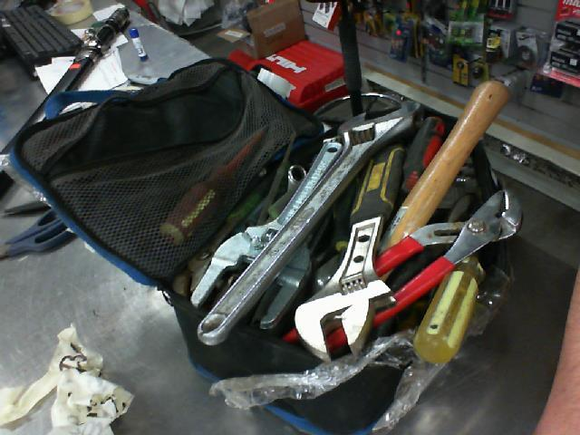 Lot de gros outils