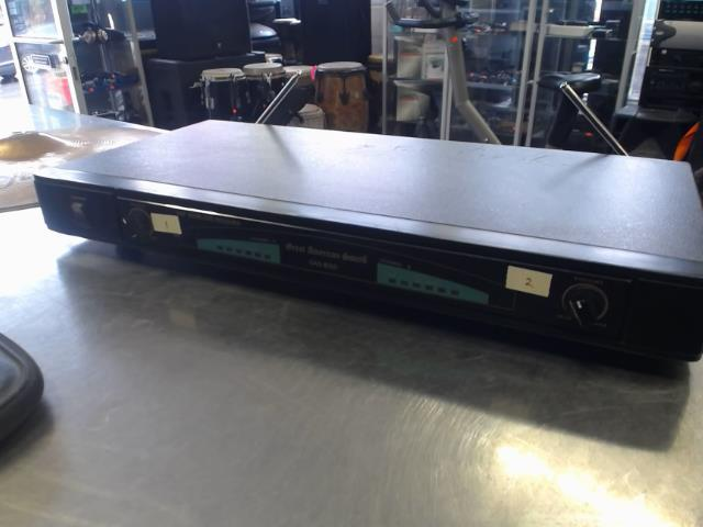 Wiresless receiver uhf no acc