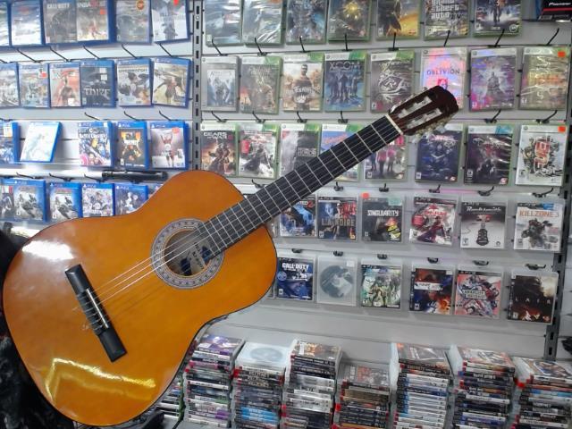 Guitare classique gauchere