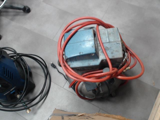 Compresseur + hose + siffleux