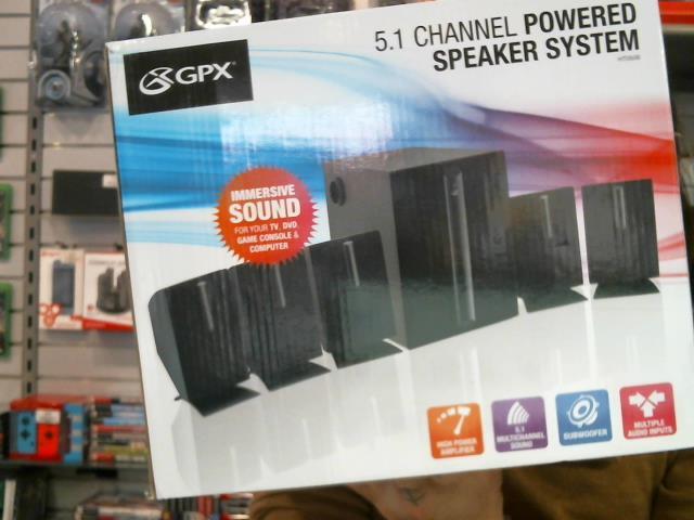 5.1 speaker system *boite*
