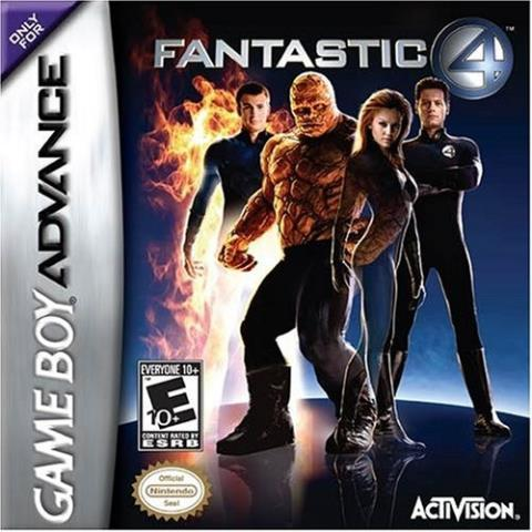Fantastic 4 gameboy advance