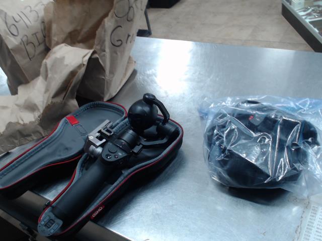 Handheld camera whit stabilizer