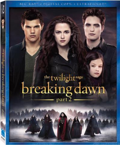 Twilight breaking dawn pt 2 bluray