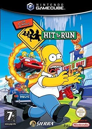 The simpson hit and run game cube