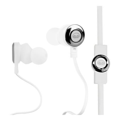 Ecouteur intra auriculaire monster blanc