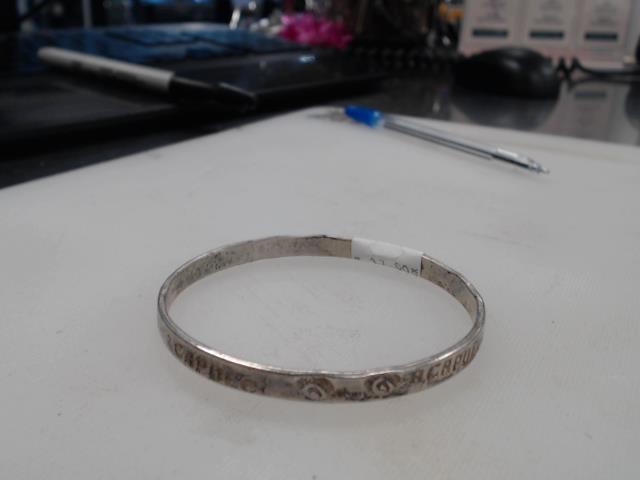 Bracelet argent acapulco