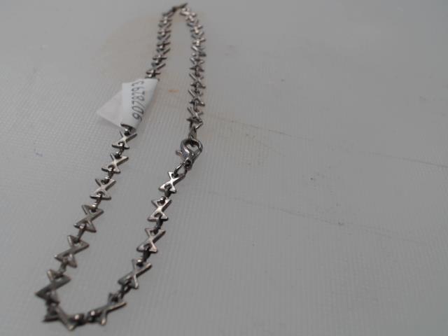 Bracelet argent maille noeud papillon