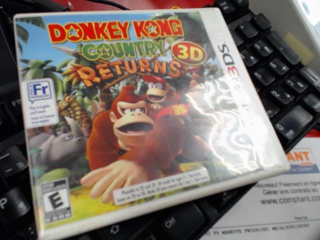Donkey kong country return 3d