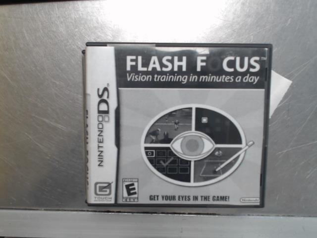 Flash focus vision training in minute a