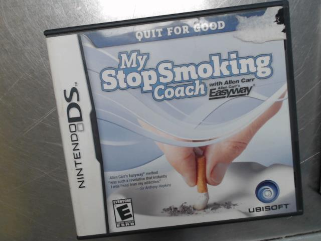 My stop smoking coach with allen carr