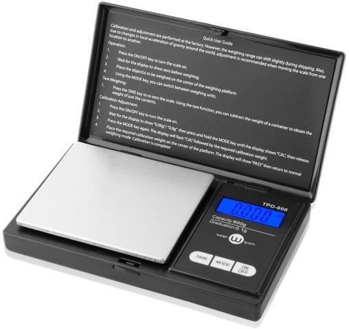 Balance de poche smart weigh noir