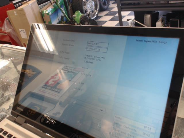 Laptop sans hard drive