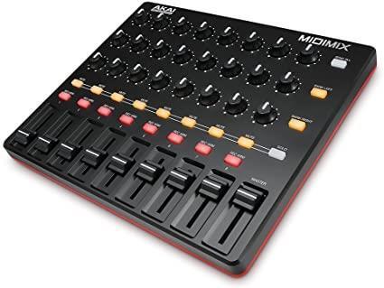 Akai midi mix high performance mixer/con