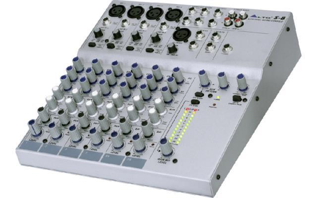Mixer 8channel alto s-8