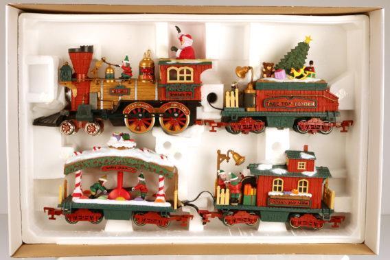 Kit de train décoratif