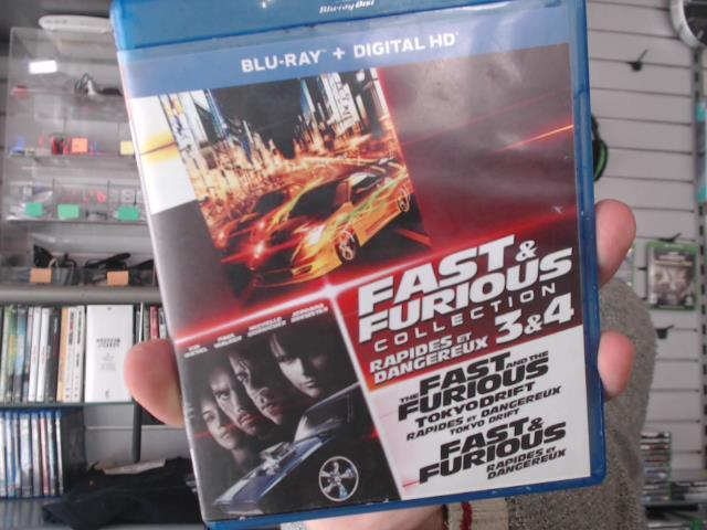Fast & furious collection 1-2-3-4