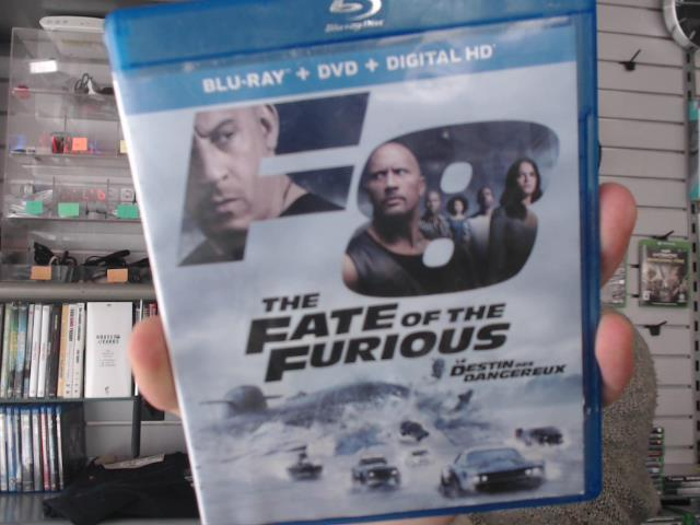 The fate of the furious f8