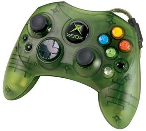 Green  first xbox controller