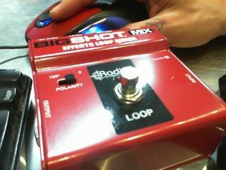 Effect loop mixer