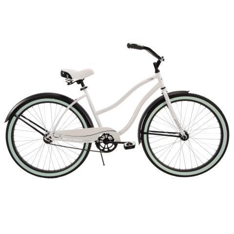 Cruiser bike blanc brun vert