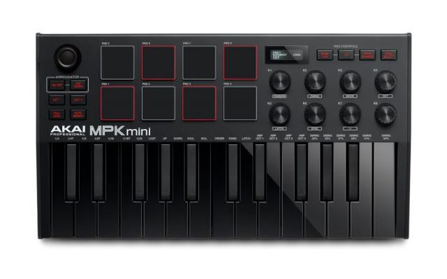 Akai mpk mini mk iii midi keyboard