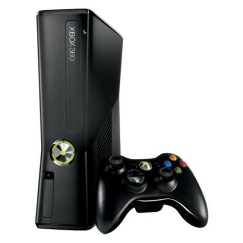 Xbox 360 4gb slim version + acc