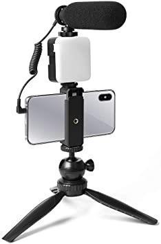 Multi-purpose vlog microphone