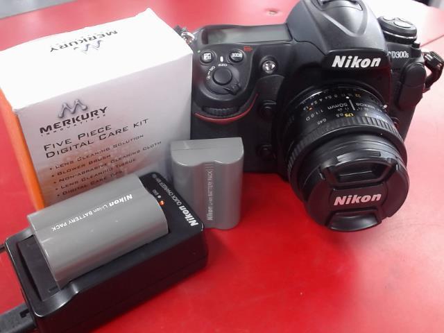 Camera nikon av lens 50mm+charger+batt