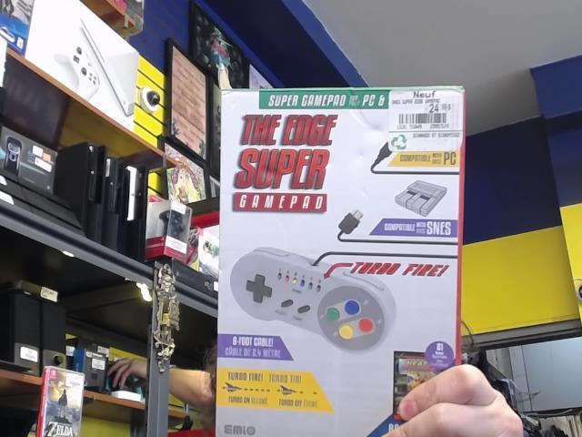 The edge super gamepad