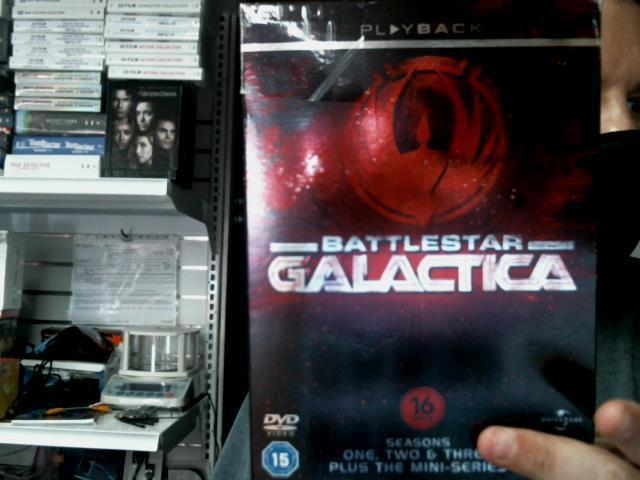 Battlestar galactica saison 1-2-3