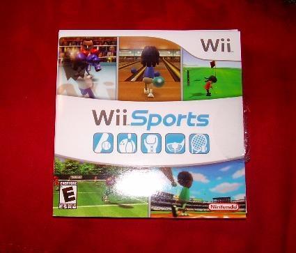 Wii sports no case