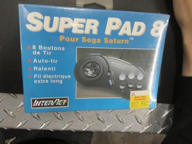 Super pad 8 for sega saturn