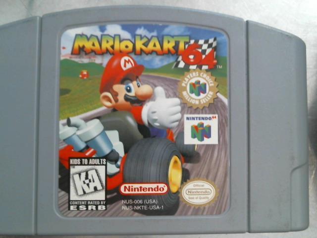 Mario kart 64 n64 cartridge only