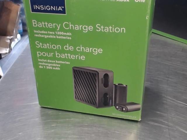 Charger batterie pack x2