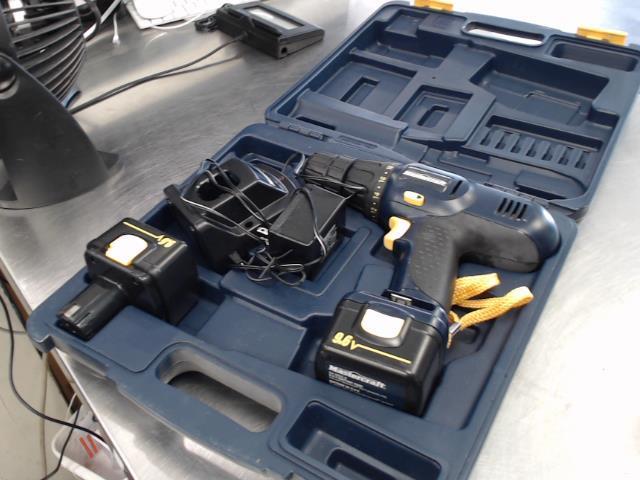 Kit drill 2 batt + chrg ds case