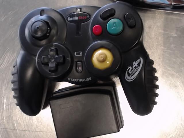 Manette gamecube sans fil noir