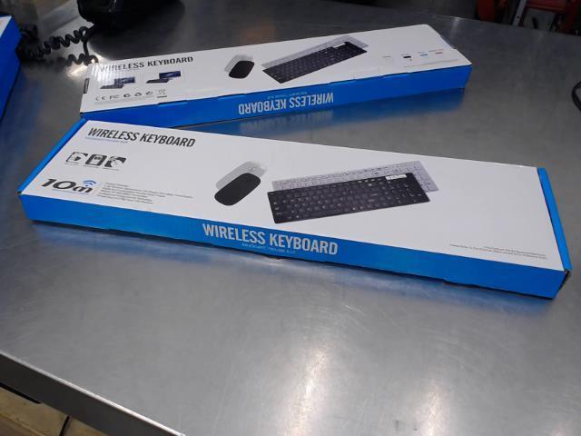 Wireless keyboard+mouse