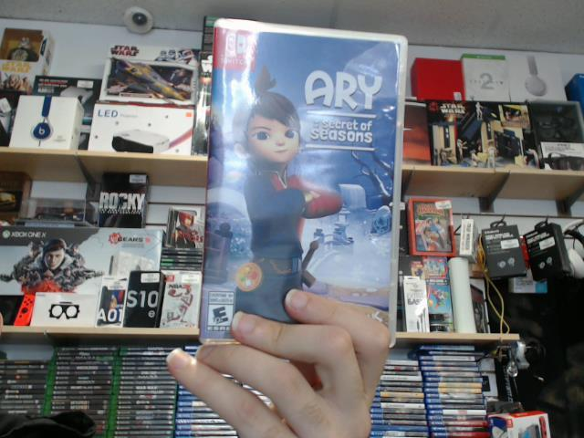 Ary and the secret of seasons