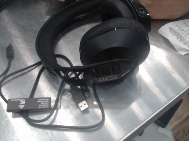 écouteur pour gaming rig avec usb