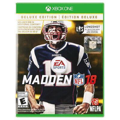 Madden nfl 18 deluxe edition