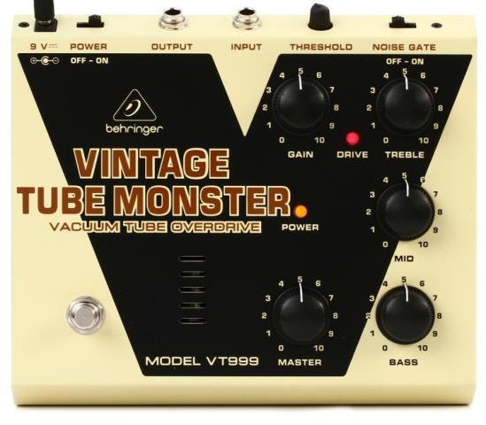 Vintage tube monster tube overdrive