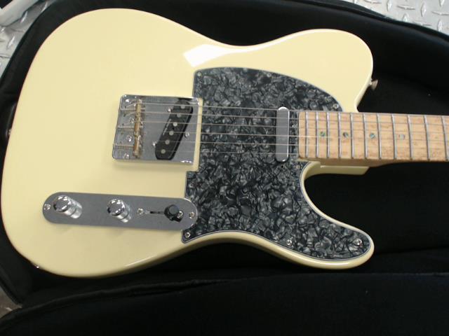 Fender lite ash telecaster 2008 blanc