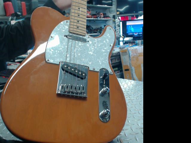 Guitar squier tele affinity series brown