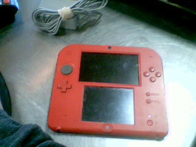 Nintendo 2ds rouge+ch
