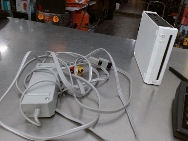 Wii+fils pas de man et de capteur