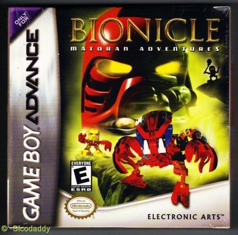 Bionicle matoran adventures