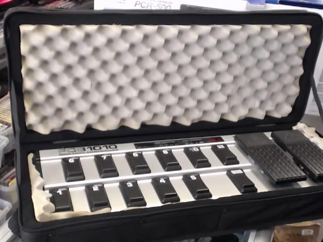 Midi foot controller +case
