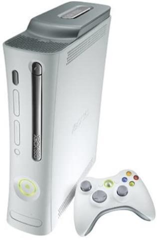 Xbox 360 + fils (pas de manette)