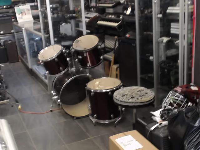 Kit de drum 4pcs rouge